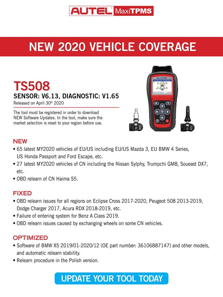 TPMS Update-TS508