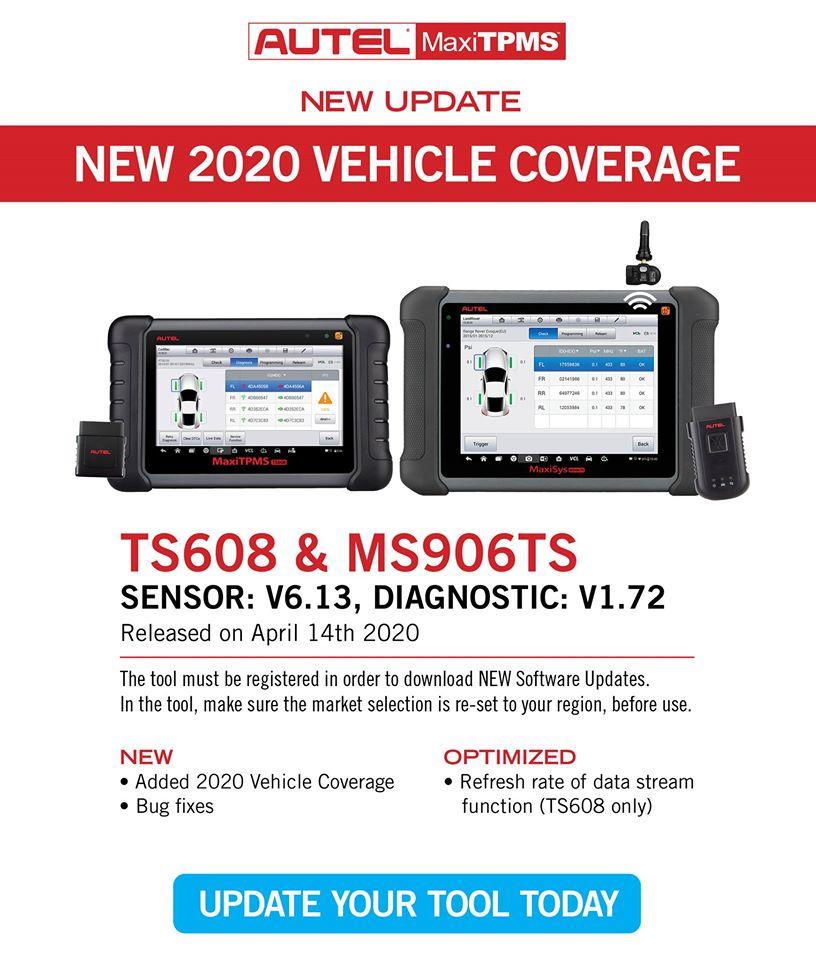 TPMS Update-TS608 MS906TS