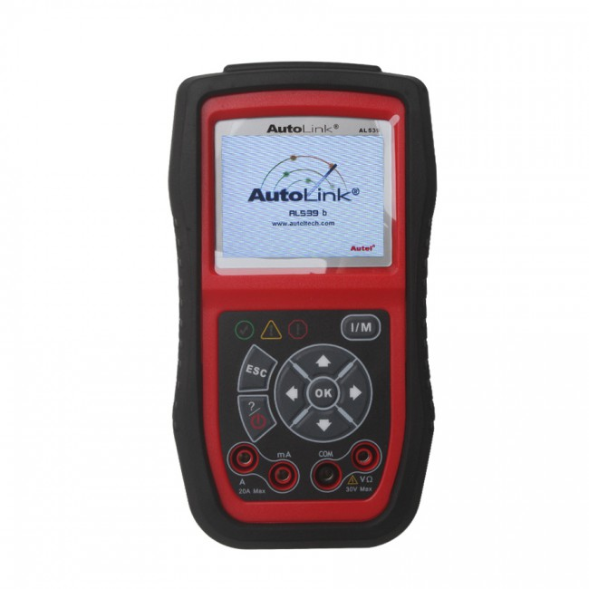 100% Original Autel AutoLink AL539B OBDII Code Reader & Battery Test Tool Shipping From USA