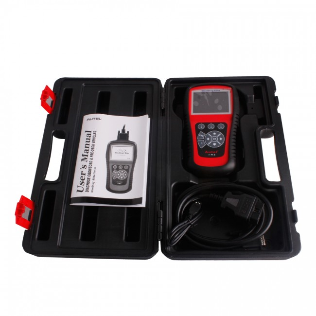 100% Original Autel MaxiDiag Elite MD701 Four System with Data Stream Asian Vehicle Diagnostic Tool