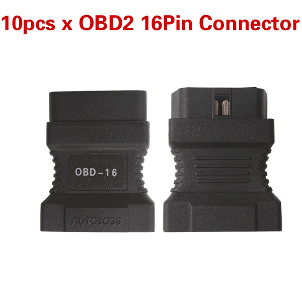 10pcs/lot Best Offer OBD2 16Pin Connector for JP701 Code Reader