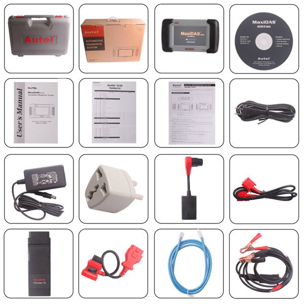 100% Original Autel MaxiDAS DS708