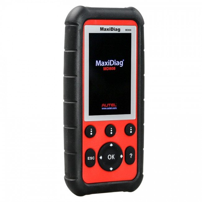100% Original Autel MaxiDiag MD808 Diagnostic Tool for Engine/ Transmission/ SRS and ABS Systems Support Lifetime Free Update Online