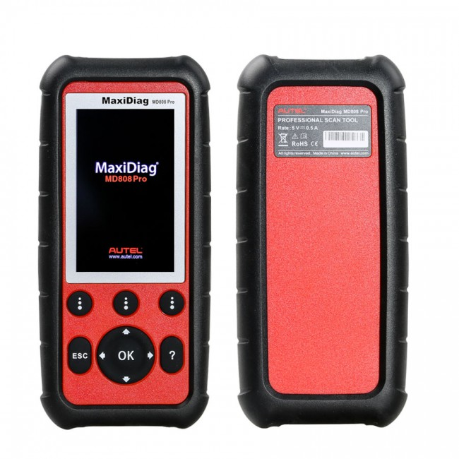 [New Year Sale] [Ship from US/UK] 100% Original Autel MaxiDiag MD808 Pro All System Scanner Support BMS/Oil Reset/ SRS/ EPB/ DPF/ SAS/ ABS