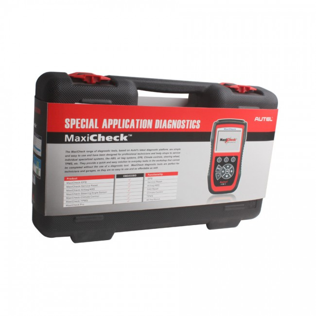 90% New Second Hand 100% Original Autel MaxiCheck Pro (including EPB/ABS/SRS/SAS/BMS/DPF) Special Application Diagnostics Shipping From USA/UK
