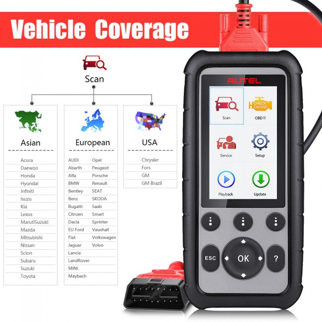 [Multi-Language] 100% Original Autel MaxiDiag MD806 Pro Full System Diagnostic Tool As Same As Autel MD808 Pro
