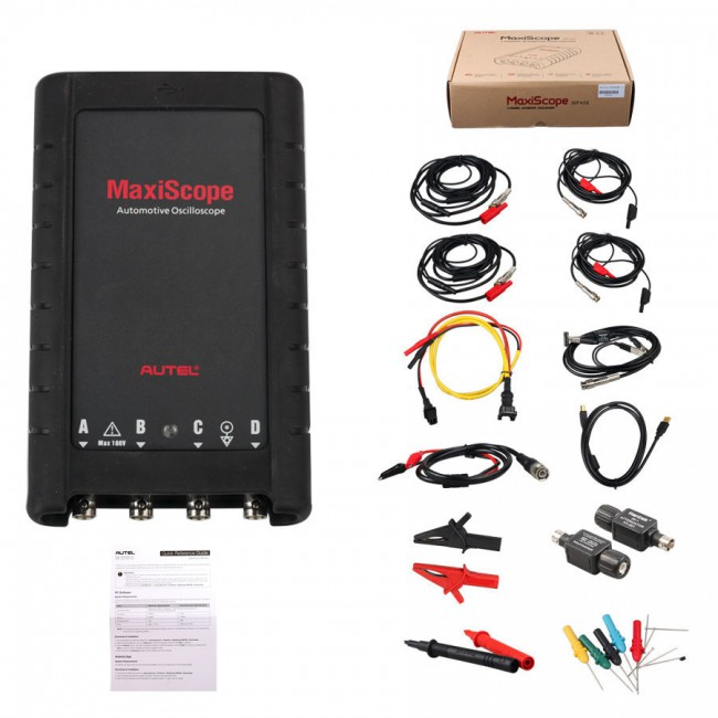 100% Original Autel MaxiScope MP408 4 Channel Automotive Oscilloscope Basic Kit Works with Maxisys Tool