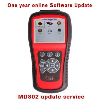 Autel MD802 4 Systems And Autel MD802 Full Systems One Year Software Online Update Service For free