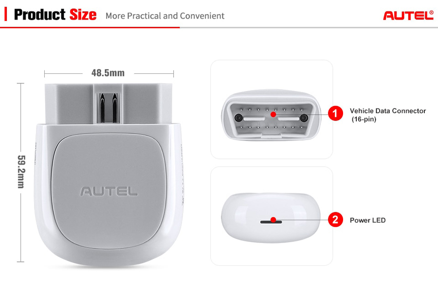AUTEL AP200 Display