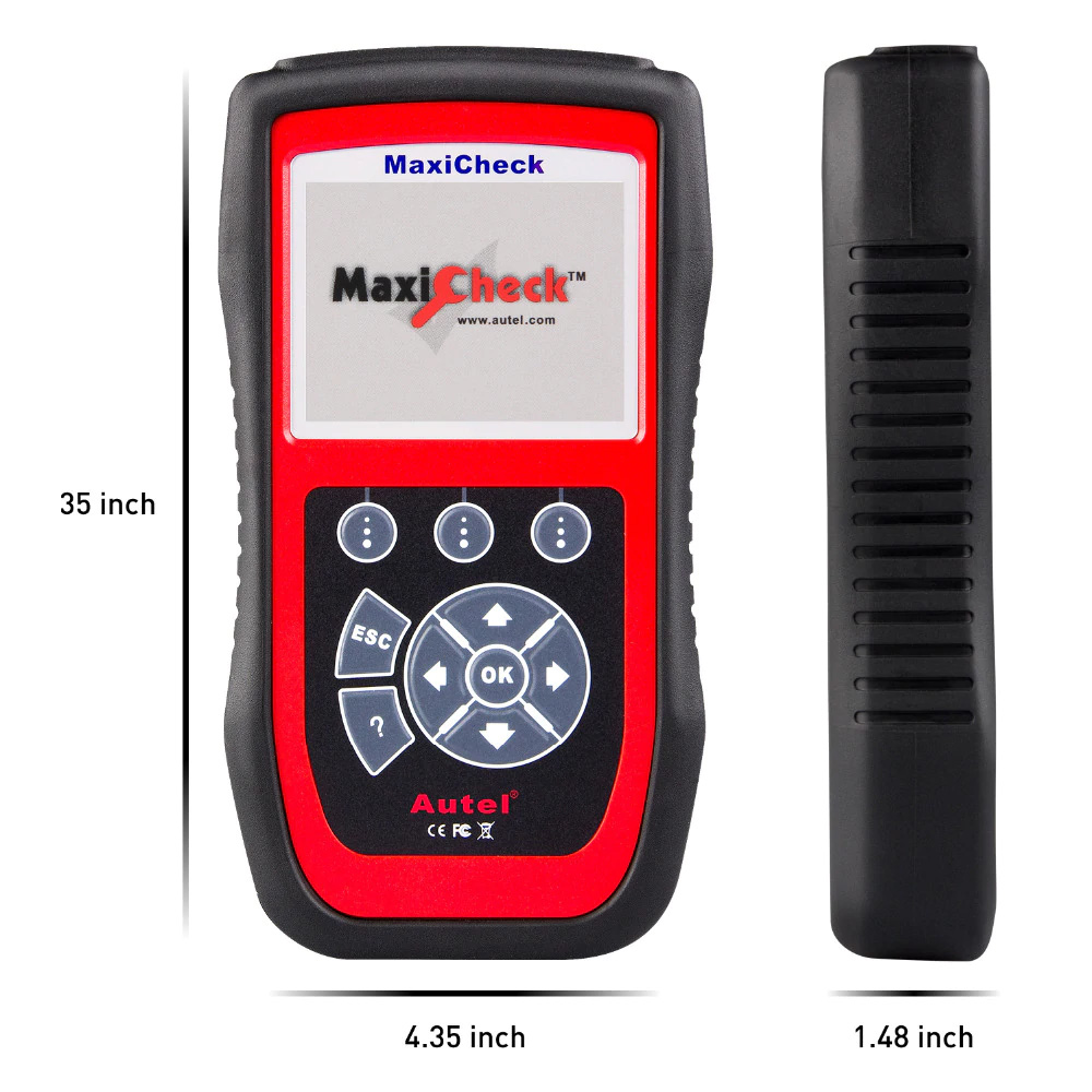 Autel MaxiCheck Pro Scanner Package Display