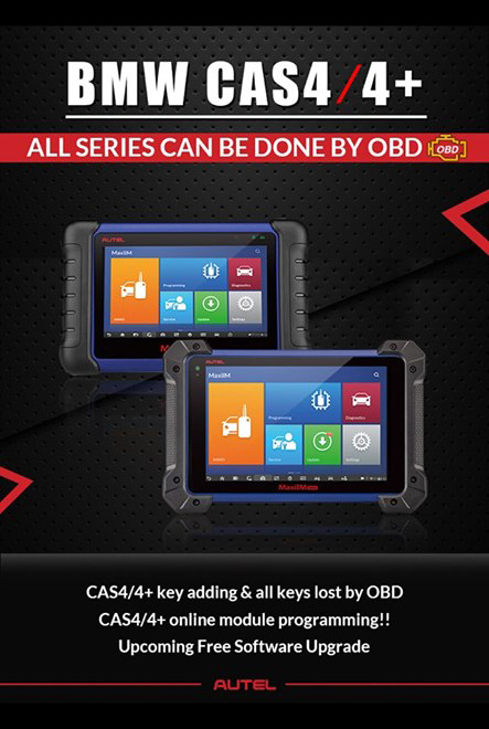 BMW CAS4/4+ All Series can be Done by OBD!