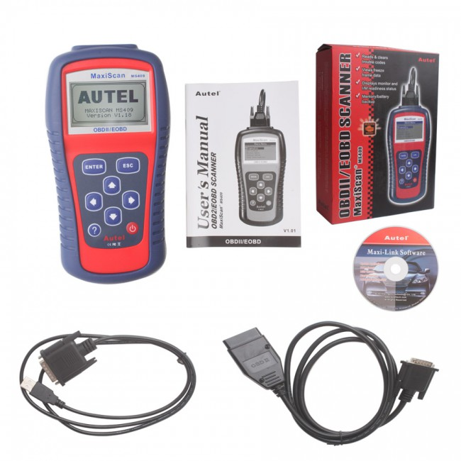 Autel MaxiScan MS409 OBDII EOBD & CAN Scan Tool(Stop producing )