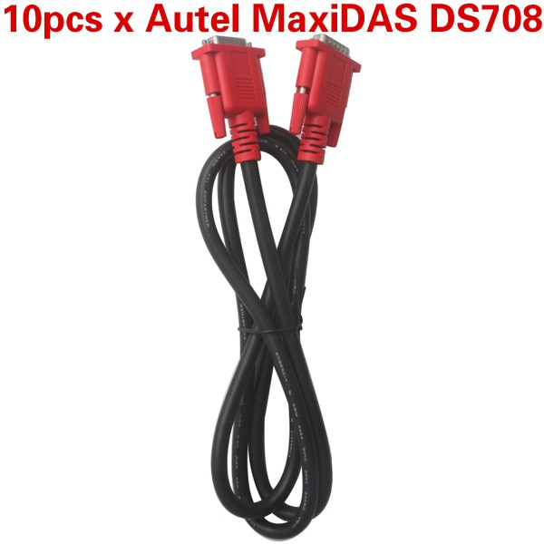 10pcs/lot Best Offer Main Test Cable for Autel MaxiDAS DS708