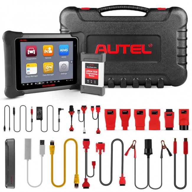 [Ship from US] Buy Autel MaxiSys Elite with J2534 ECU Preprogramming Box Get TS401 and MV105 for Free [Upgraded Version of MS908P MK908P]