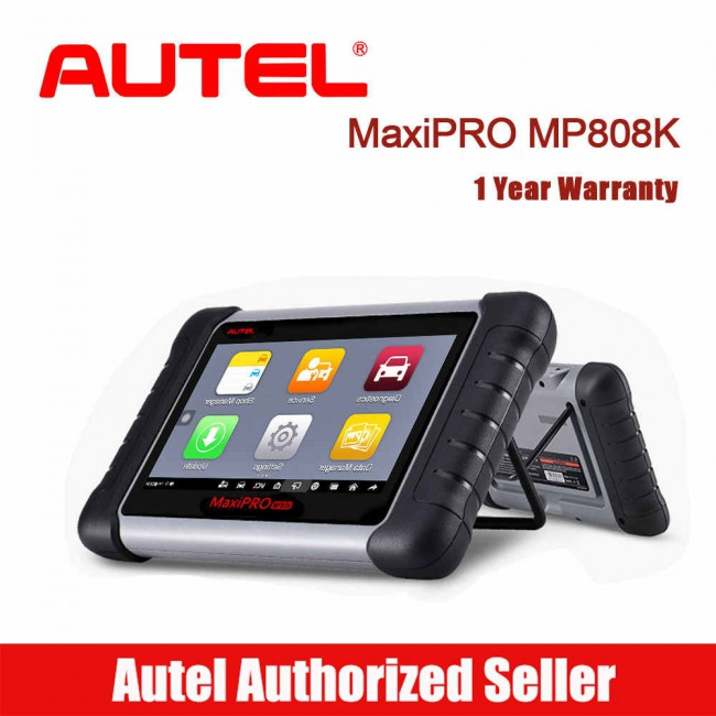 Autel MaxiPro MP808K with OE-Level All Systems Diagnosis Support Bi-Directional Control with Complete OBDI Adapters (Same as DS808K)
