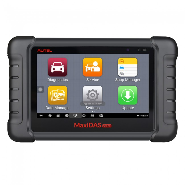 [Ship from US] 100% Original AUTEL MaxiDAS DS808 KIT Tablet Diagnostic Tool Full Set Supports Injector Coding & Key Coding Update Online