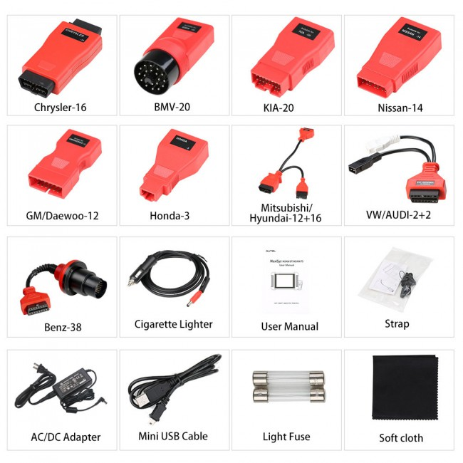 [Ship from US] 100% Original Autel MaxiSys MS906BT Advanced Wireless Diagnostic Devices for Android Operating System