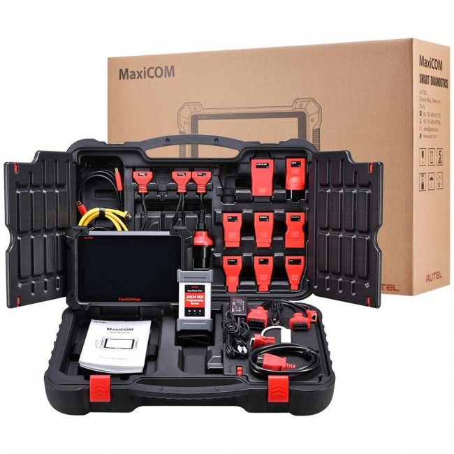 Ship from US Autel MaxiCOM MK908P Diagnostic Tool with ECU Programming Function Same as MaxiSys Elite (Advanced Version Of Autel MS908P)