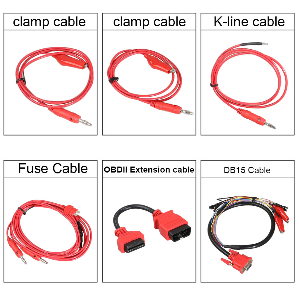 G-BOX cables