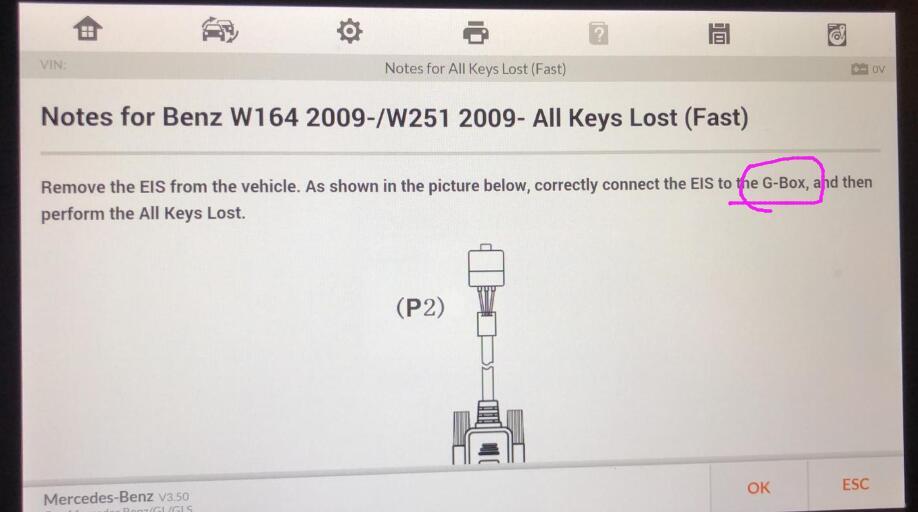 Mecedes all keys lost
