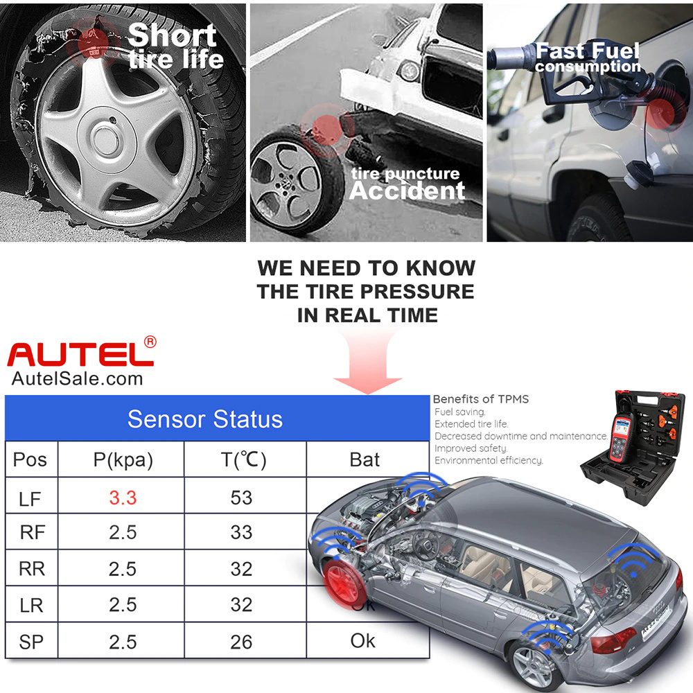 short tire life and fast fuel consumption