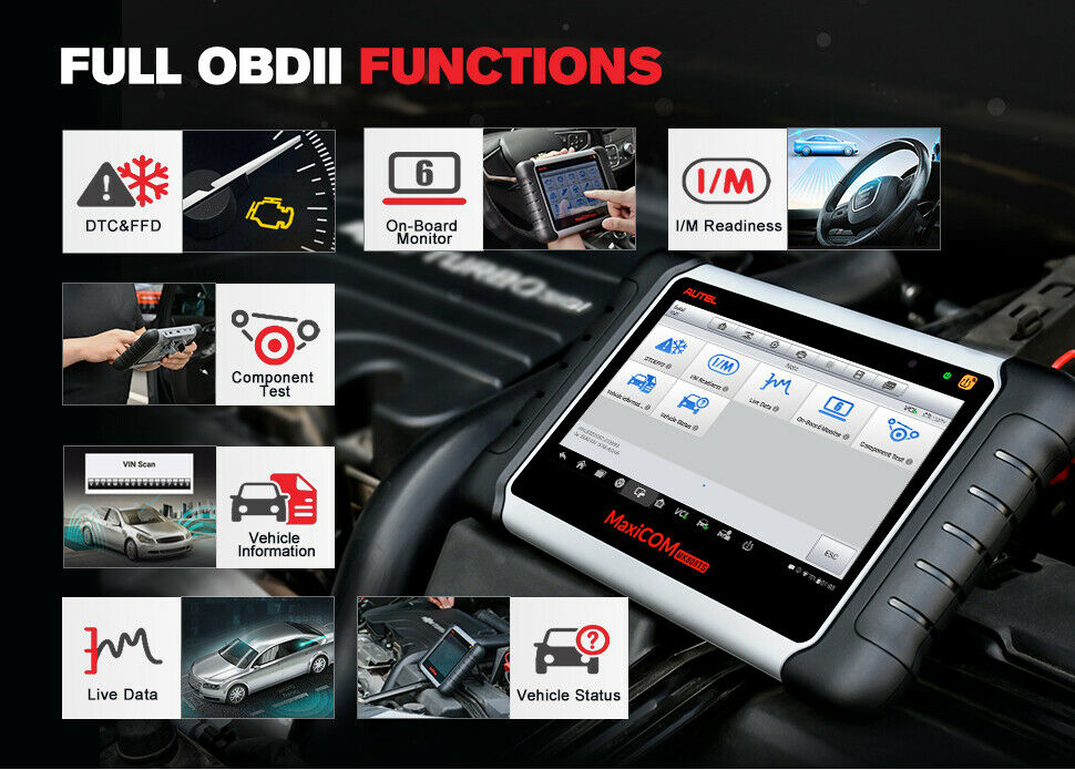 Full OBD2 Functions