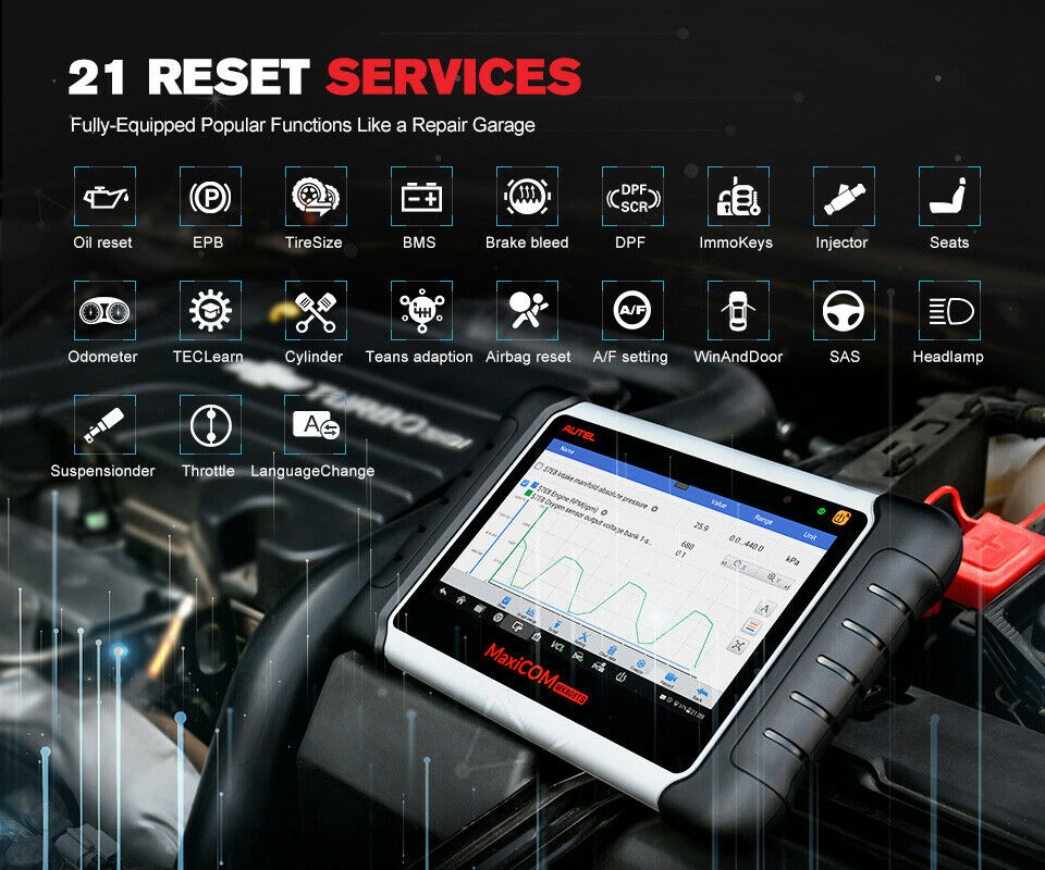 Fully-Equipped Popular Functions Like a Repair Garage