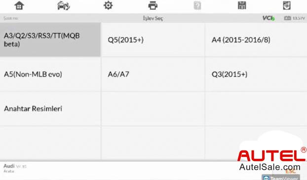 A3 / Q2 / S3 / RS3 / TT (MQB beta)